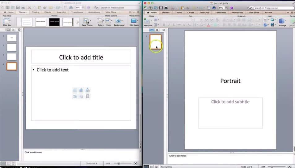 Embedding a link - method 1 screen 1